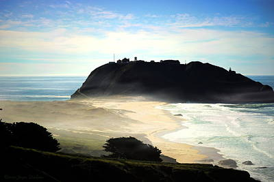 Photograph - Point Sur by Joyce Dickens