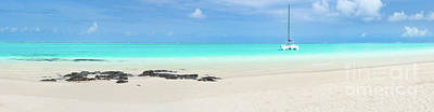 Guns Arms And Weapons -  Pointe dEsny beach, Mauritius. Panorama by MotHaiBaPhoto Prints