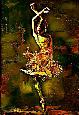 Digital Art - Poise by Lynda Payton