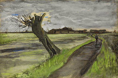 Painting - Pollard Willow by Vincent van Gogh
