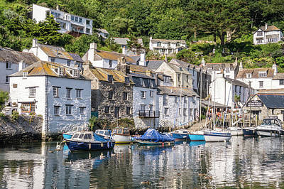 Photograph - Polperro, Cornwall by Hazy Apple