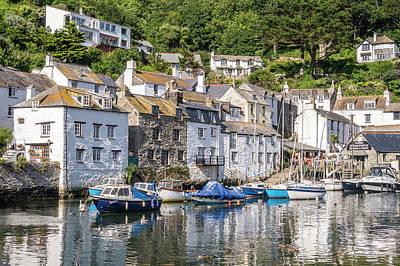 Photograph - Polperro, Cornwall by Hazy Apple