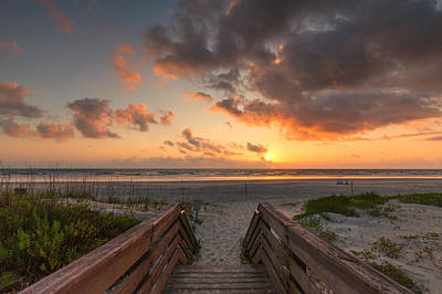 Photograph - Ponce De Leon Inlet Beach Path by Stefan Mazzola