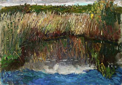 Painting - Pond by Juliya Zhukova