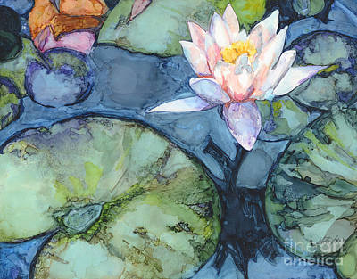 Lilly Pond Painting - Pond Lily by Vicki Baun Barry