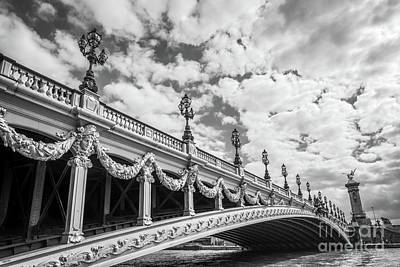 Seine River Wall Art - Photograph - Pont Alexandre IIi In Paris by Delphimages Photo Creations