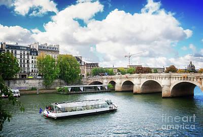 Photograph - Pont Neuf, Paris, France by Anastasy Yarmolovich