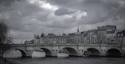 Pont Neuf Paris Art Print