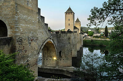 Photograph - Pont Valentre In Cahors by RicardMN Photography