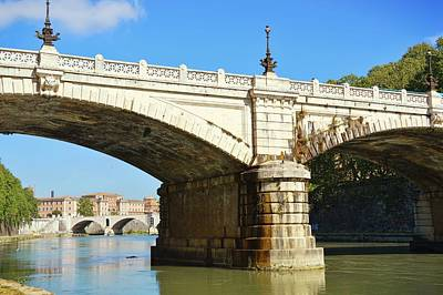 Photograph - Ponte Giuseppe Mazzini by JAMART Photography