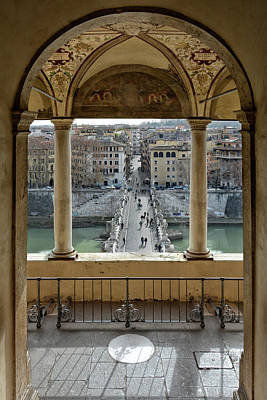 Fantasy Royalty-Free and Rights-Managed Images - Ponte Sant Angelo Rome by Joachim G Pinkawa
