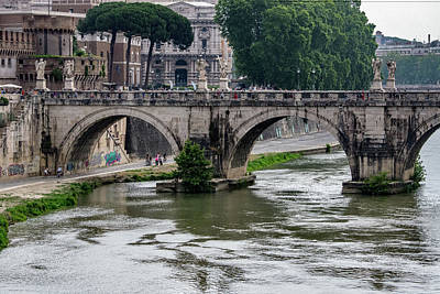 Photograph - Ponte Sant'angelo by Joseph Yarbrough