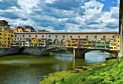 Photograph - Ponte Vecchio   by Harry Spitz