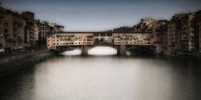 Ponte Vecchio Print by Andrew Soundarajan
