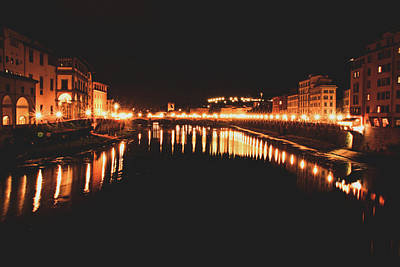 Photograph - Ponte Vecchio by Angela King-Jones