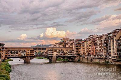 Photograph - Ponte Vecchio by Leonardo Fanini