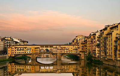 Photograph - Ponte Vecchio by Mick Burkey