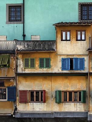 Photograph - Ponte Veccio by Al Hurley