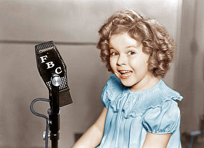 Poor Little Rich Girl, Shirley Temple Art Print by Everett
