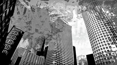Splatter Digital Art - Pop City 41 by Melissa Smith
