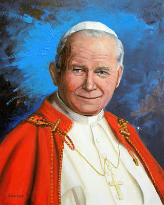 Pope John Paul II Art Print