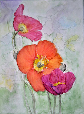 Painting - Poppies by Jim Brage