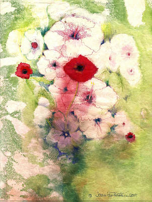 Painting - Poppies by Joan Hartenstein