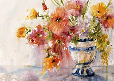 Painting - Poppies by Judith Levins