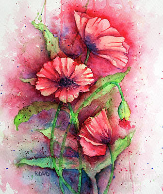 Painting - Poppies by Rebecca Davis
