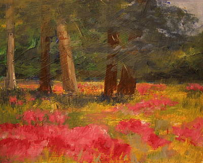 Poppy Meadow Original by Julie Lueders