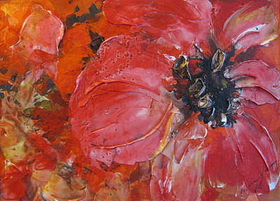 Painting - Poppy by Melanie Stanton