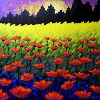 Poppy Vista Original by John  Nolan