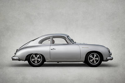 Digital Art - Porsche 356 by Douglas Pittman