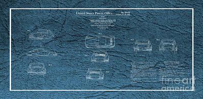 Photograph - Porsche 911 Patent by Doc Braham