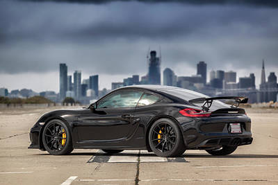 Photograph - #porsche #cayman #gt4 by ItzKirb Photography