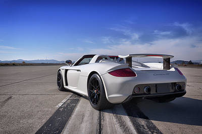 Photograph - #porsche #cgt #print by ItzKirb Photography