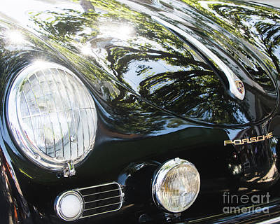1955 Porsche 356 Photograph - Porsche High Gloss by Robert Anastasi