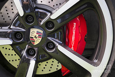 Photograph - Porsche Wheel by Dennis Hedberg