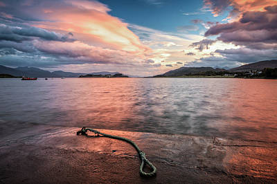 Port Appin Sunrise Art Print