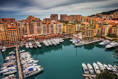 Photograph - Port De Fontvieille In Monaco by Artur Bogacki