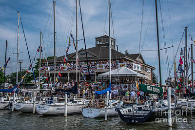 Photograph - Port Huron Yacht Club by Grace Grogan