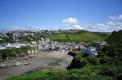 Photograph - Port Isaac Harbour by Richard Brookes