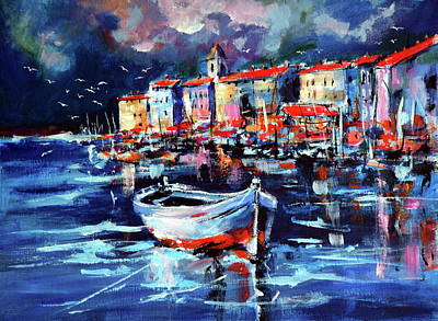 Port Art Print by Kovacs Anna Brigitta