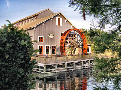 Port Orleans Riverside Iv Art Print