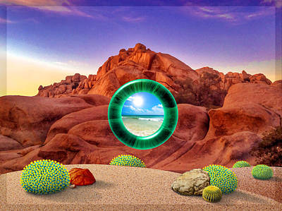 Portal #3 Original by Snake Jagger