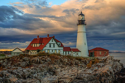 Portland Head Light 3 Art Print