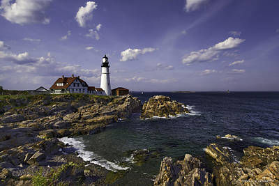 Photograph - Portland Head Light by Denis Lemay