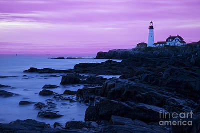 Photograph - Portland Head Lighthouse by Brian Jannsen