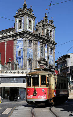 Photograph - Porto Trolley 1 by Andrew Fare