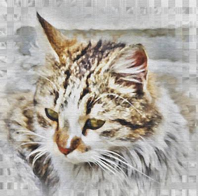 Portrait Cat Original by Ralph Klein